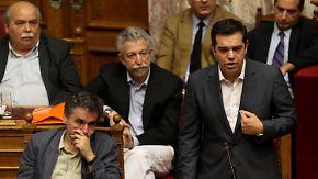 Eskalierende Proteste: Griechisches Parlament stimmt für Reformen