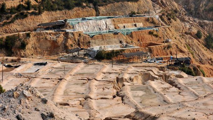 Preisverfall um fast 90 Prozent: Nachfrage nach Seltenen Erden bricht ein