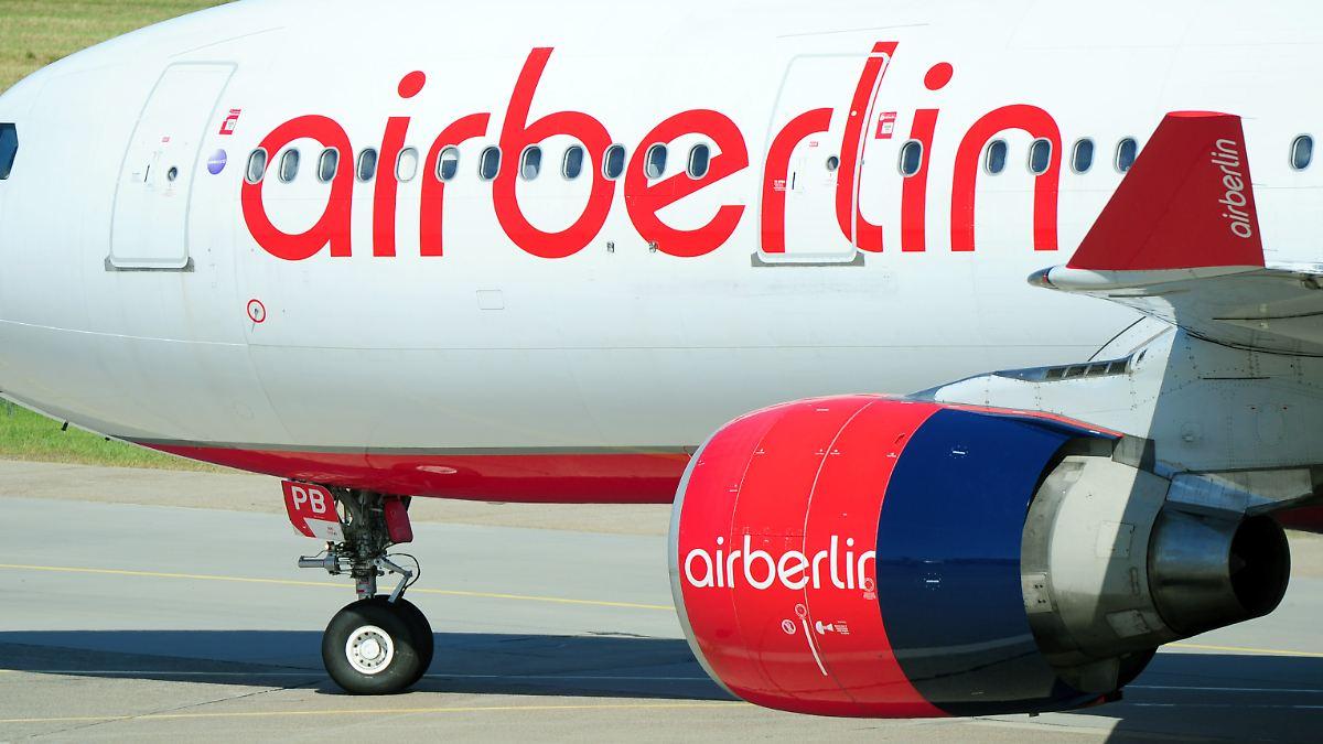 Raus aus den roten Zahlen: Air Berlin plant Piloten-Entlassungen - n ...