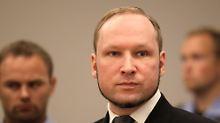 Breivik im Jahr 2012 vor Gericht.