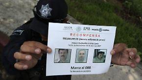 """Erfolglose Suche nach """"El Chapo"""": Sieben Mitarbeiter sollen mit Ausbruch zu tun haben"""