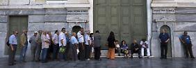 420 Euro Wochenlimit: Griechische Banken öffnen ein bisschen