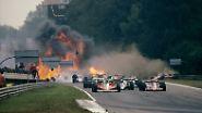 ... mal enden sie tödlich. In Folge dieses spektakulären Unfalls in Monza 1978 ...