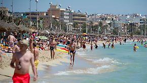 Ende des Handtuchkriegs?: Mallorca erwägt, Zahl der Touristen zu begrenzen