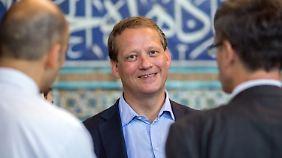 Eric Schweitzer mit einer Delegation im Iran.