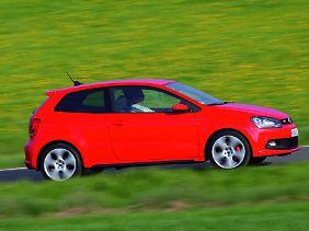 Der Polo GTI lässt sich gut lenken, die Beschleunigung ist allerdings sehr abrupt.