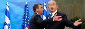 Umstrittenes Atomabkommen: Pentagon-Chef sieht im Iran weiter Gefahr