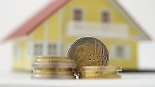 Bei niedrigen Zinsen sollte an der Tilgung nicht gespart werden. Das kann die Rückzahlungsdauer verlängern.