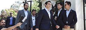 Zweite Kraftprobe im Parlament: Tsipras kämpft um Abweichler