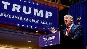 """... nächster Präsident der USA werden. Dem Mann mit dem Spitznamen """"Mr. Ich"""" scheinen ..."""