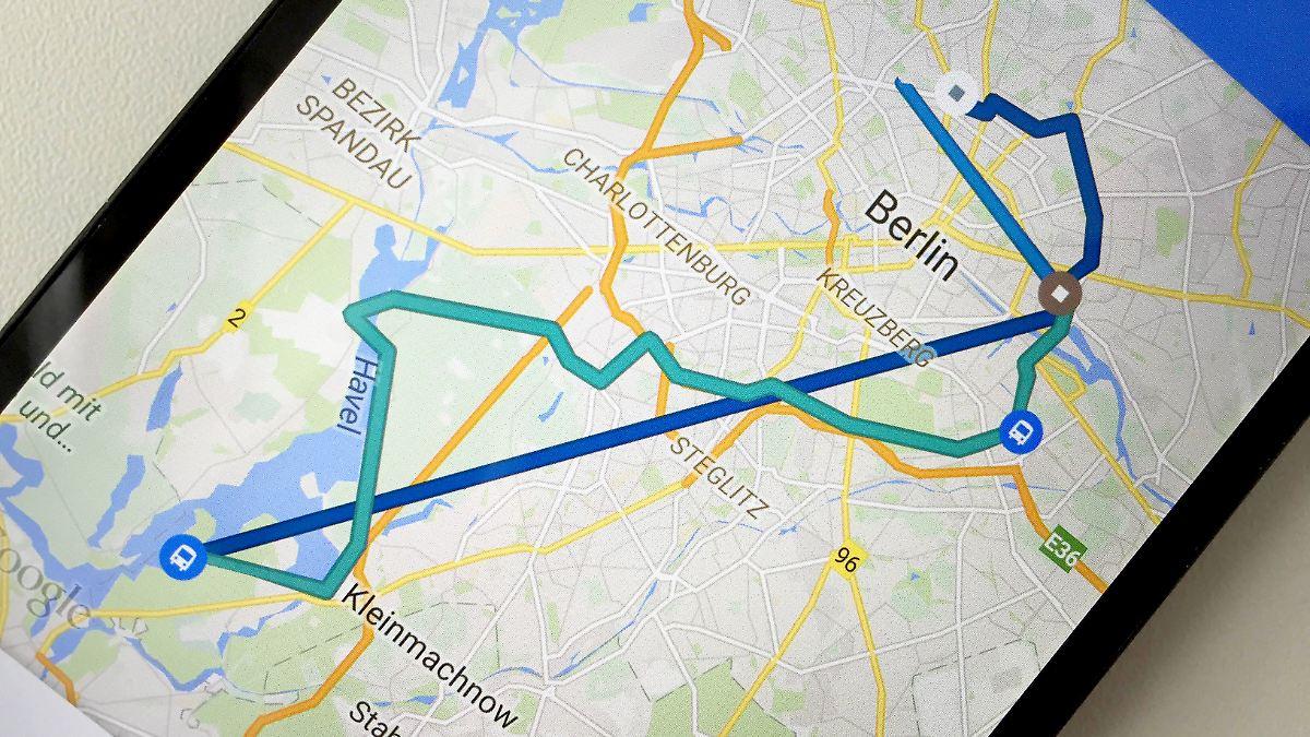 zeitleiste zeigt wann man wo war google maps macht alle wege sichtbar n. Black Bedroom Furniture Sets. Home Design Ideas