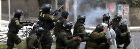Unruhen in Bolivien: Explosion beschädigt deutsche Botschaft