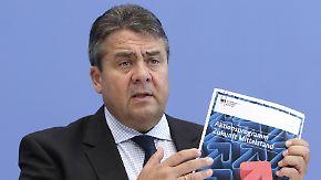 Gabriel stellt Programm vor: Mittelstand steht vor neuen Herausforderungen