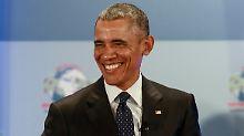 """Namenswahl nach Obama-Besuch: Kenianische Babys heißen """"Air Force One"""""""