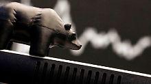 Dax geht 200 Punkte abwärts: Dow Jones macht zweite Rekordwoche komplett