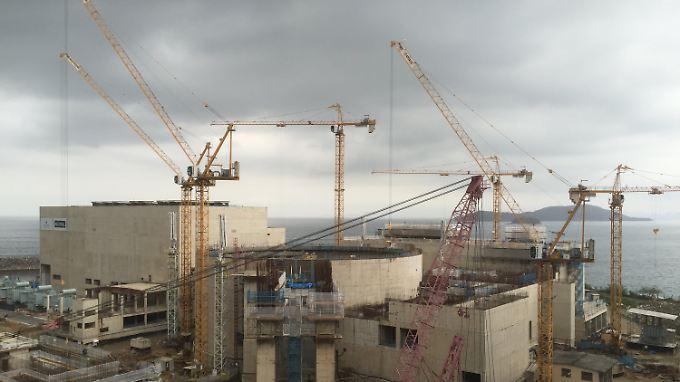 Das Akw Angra wird direkt ans Meer gebaut - Gefahr wie in Fukushima bestehe aber keine, versichern die örtlichen Ingenieure.
