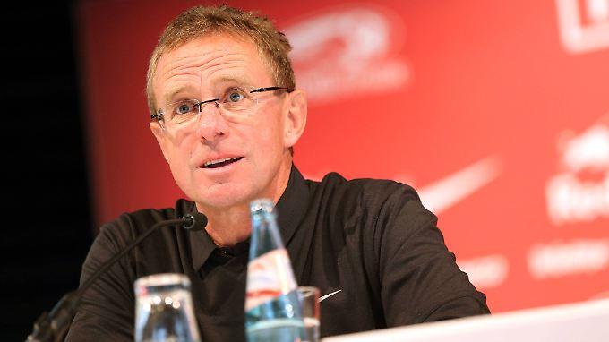 Ralf Rangnick macht keinen Hehl aus seinen Zielen mit RB Leipzig: Ab in die Bundesliga, so schnell wie möglich.