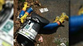 Jähes Ende des trampenden Roboters: Unbekannten in den USA zerstören hitchBot
