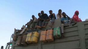 Letzte Station vor der Sahara: 6000 Flüchtlinge werden pro Woche durch Niger geschleust