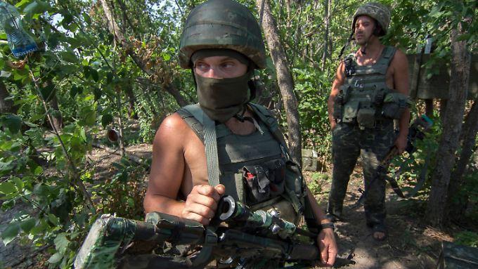 Die Realität des Krieges: In der Ukraine wird - trotz der Waffenruhe - erbittert gekämpft.