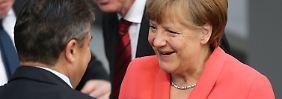Zweite Halbzeit GroKo: Die Verzwergung der SPD geht voran
