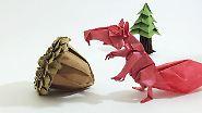 Origami für Fortgeschrittene: Bitte ... falte mir ein Einhorn!