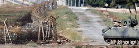 Die Grenze in Reyhanli soll mit einer Mauer gesichert werden.