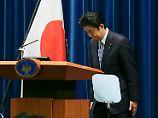 Bemerkenswerte Erklärung von Shinzo Abe.