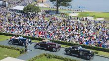 Spektakuläres Oldtimer-Treffen: Schaulaufen der Superlative in Pebble Beach