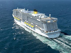 Costa Crociere will bei den ganz goßen Schiffen mitfahren.
