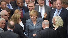 Griechenland-Abstimmung: Bundestag gibt grünes Licht für drittes Hilfspaket