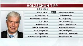 """Holzschuh tippt den Spieltag: """"Dortmund wird nicht noch einmal so viele Fehler machen"""""""