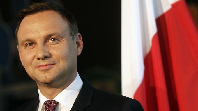 Polens Präsident Andrzej Duda möchte keine Flüchtlinge mehr in seinem Land aufnehmen.