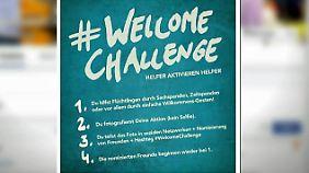 Jeder kann Flüchtlingen helfen: Freiwillige Helfer setzen Zeichen gegen Fremdenhass