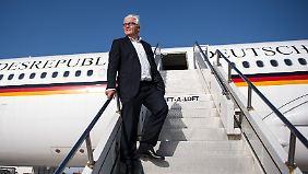Steinmeier präsidiale Pose mindert tatsächlich seine Chancen auf das Amt.