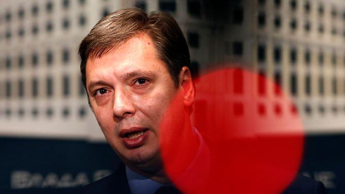 Serbiens Ministerpräsident Aleksander Vučić war einst Nationalist, hat sein Land nun aber auf einen pro-europäischen Kurs gebracht.