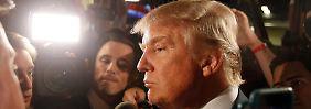 Donald Trump stellt sich gern als Selfmade-Millardär dar.