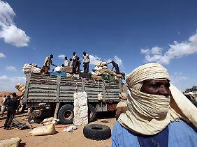 Agadez: Ein Umschlagplatz für Flüchtlinge. Die EU will hier einen Außenposten schaffen.
