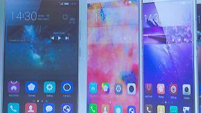 Die IFA-Highlights 2015: Huawei Mate S kommt neuem iPhone zuvor