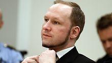 Massenmörder in Isolationshaft: Breivik klagt gegen Haftbedingungen