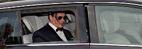 Promi-News des Tages: Johnny Depp sorgt für bizarren Auftritt