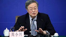 Notenbank-Chef Zhou Xiaochuan