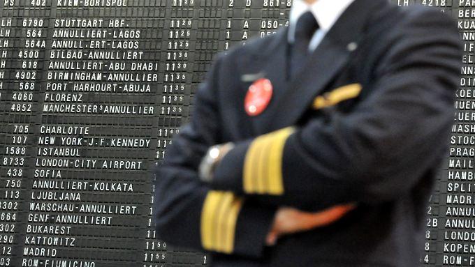 Zwölf Mal haben die Piloten der Lufthansa bereits in dieser Tarifrunde gestreikt.