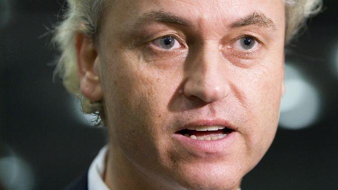 """Wilders """"Freiheitliche"""" werden das Zünglein an der Waage sein."""
