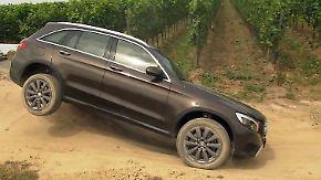 Gesteigerter Offroad-Spaß: Mercedes GLC kann im Gelände mehr denn je