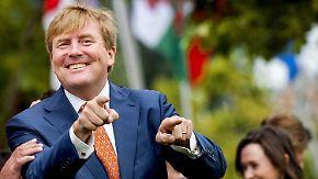 Promi-News des Tages: Willem-Alexander landet königlichen Treffer