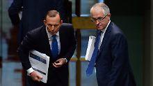 Regierungschef abgewählt: Abbott verliert Premierposten in Australien
