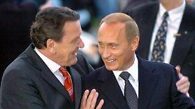 Schröder sieht Putin als seinen Freund an.
