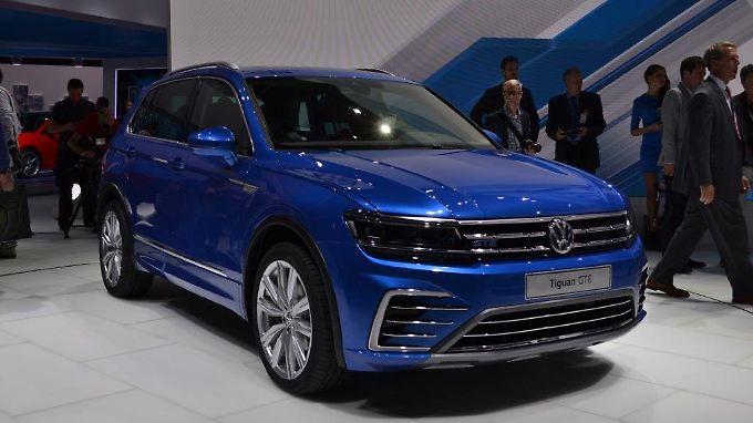 Kantiger als sein Vorgänger  gibt sich der neue VW Tiguan.