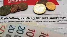 Steuernummer nachreichen: Alte Freistellungsaufträge werden ungültig